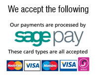 Credit and Debit Cards Accepted