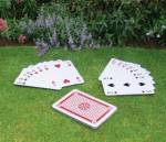 Giant Playing Cards Garden Game