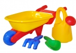 Wheelbarrow and Watering Can Play Set