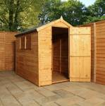 6ft x 4ft Shiplap Apex Garden Shed