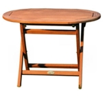 Lifestyle Oval Occasional Small Table
