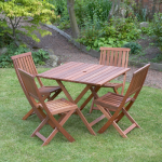 Victoria 5 Piece Classic Hardwood Garden Furniture Set