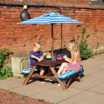 Kingfisher Kids Picnic Table Set
