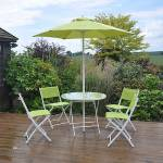 Kingfisher 6 Piece Green Table & Chair Set(SOC2)