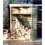 4 Foot Pressure Treated Wooden Log Store