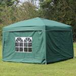 Heavy Duty 10ft x 10ft Popup Gazebo with Sides