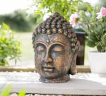 La Hacienda Large Resin Buddha Head