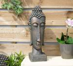 La Hacienda Thin Resin Buddha Head
