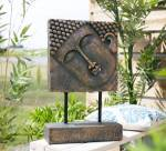 La Hacienda Extra Large Resin Female Buddha Head on Base