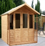 Traditional Summerhouse with Verandah 7ft x 7ft