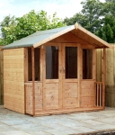 Traditional Summerhouse with Verandah 8ft x 7ft