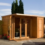 Garden Room with Side Shed 10ft x 8ft