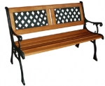 Kingfisher 2 Person Classic Wooden Garden Bench