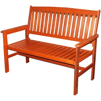Kingfisher 2 Person Wooden Garden Bench