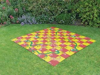 Giant Snakes and Ladders Garden Game