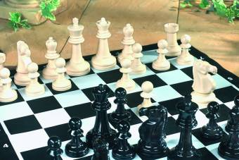 Kingfisher Giant Chess Garden Game
