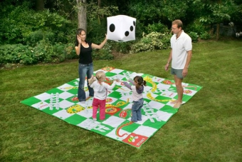Premium Giant Snakes and Ladders Garden Game