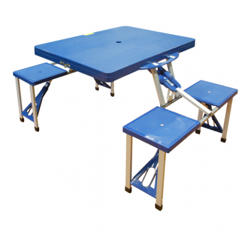 Kingfisher Folding Camping and Picnic Table Set