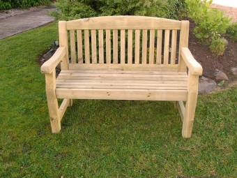 Athol Chunky 4FT (Foot) Wooden Bench
