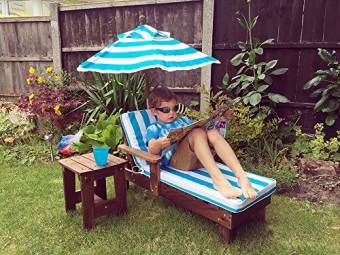 Kingfisher Kids Sun Lounger Set