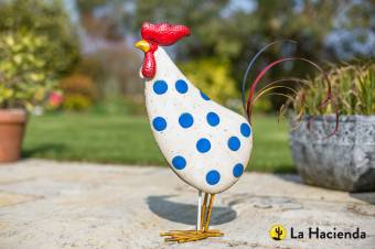 La Hacienda Spotty Rooster Patterned Animal