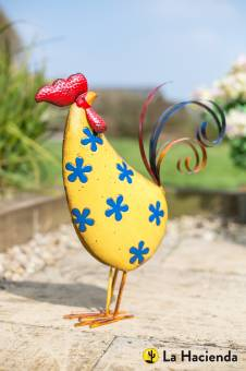 La Hacienda Flowery Rooster Patterned Animal