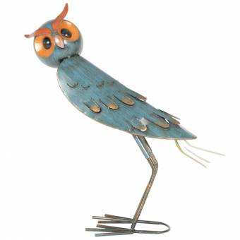 La Hacienda Oli Owl Extra Large Funky Bird Ornament