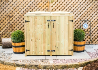 Wheelie Bin and Recycling Box Chest Storage