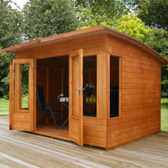 Helios Summerhouse 10ft x 8ft