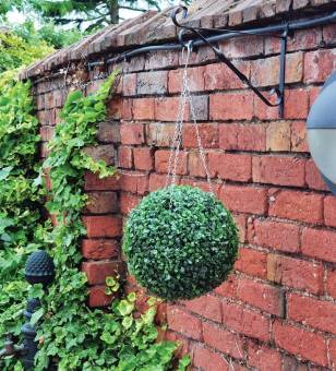 Kingfisher Green Artificial Topiary Ball