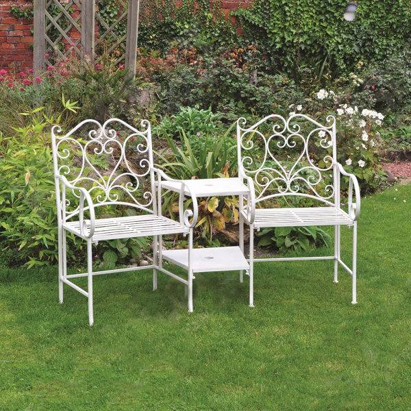 product information this beautiful cream love seat