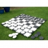Giant Draughts Garden Game