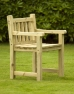 Athol Carver Chunky Wooden Garden Chair