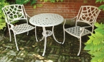Norfolk Leisure Tea for Two Cast Aluminium Set