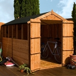 10ft x 8ft Shiplap Apex Garden Shed