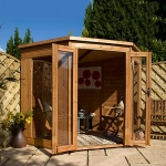 Corner Summerhouse 7ft x 7ft