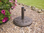 Kingfisher Metal Cast Iron Parasol Base